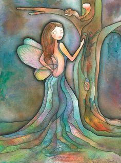 La dama del bosque - Autor: Silvina Santos Paredes