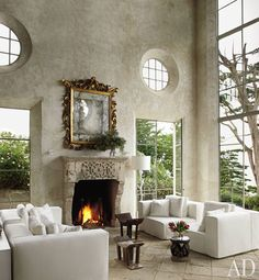 Love this living room...windows!