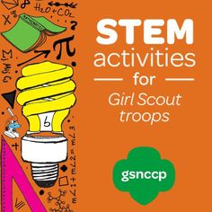 Girl Scouts is all about helping girls learn more about Science, Technology, Engineering, and Math! In honor of National STEM month explore your girls' interest in STEM by trying out this paper airplane challenge!