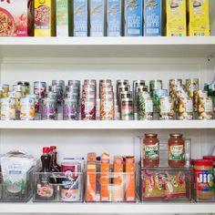 Rise up ⬆️ to the challenge of keeping all of your cans visible in your pantry! ✨ Our new expandable shelves will help you achieve pantry perfection! Pantry Storage, Kitchen Organization, The Home Edit, My Design, House Design, Container Store, Creating A Brand, Wedding Decor, Kitchen Design