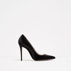 Image 2 of LIMITED EDITION LEATHER HIGH HEEL SHOES from Zara