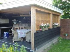 Hut, Pergola, Surfing, Outdoor Structures, Building, Projects, Decor, Garten, Log Projects