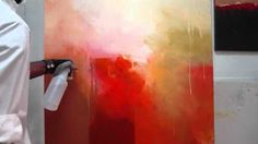 THE ARTIST HINES PAINTING - YouTube