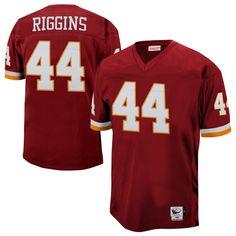 Washington Redskins John Riggins Mitchell & Ness Burgundy Authentic Throwback Jersey