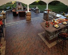 Trendy outdoor kitchen design ideas backyard only on this pa.- Trendy outdoor kitchen design ideas backyard only on this page Trendy outdoor kitchen design ideas backyard only on this page - Outside Living, Outdoor Living Areas, Outdoor Rooms, Outdoor Decor, Outdoor Kitchens, Outdoor Patios, Brick Patios, Backyard Kitchen, Outdoor Kitchen Design