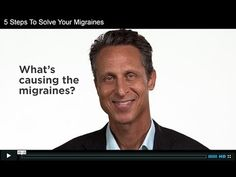 Dr. Mark Hyman explains the functional medicine approach to migraines. #GlutenFree #FoodSensitivities