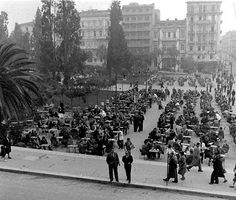 Constitution square. About 50 years ago....!