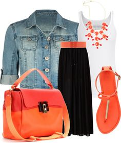 """""""Summer Coral"""" by anne-ratna on Polyvore"""