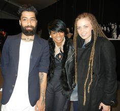 Fabio Costa, Sonjia Williams, Alicia Hardesty from Project Runway