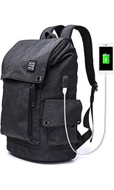 ef8303d316fa YLLS Business Laptop Backpack for Men Women Anti theft Tear water Resistant  Travel bag School College Backpack fits up to Inch Notebook Computer USB ...