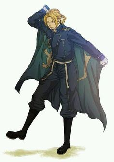 Ed - FMA, looks very good in uniform :)