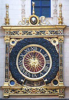 Le Gros-Horloge de Rouen, par Jacques Tanguy
