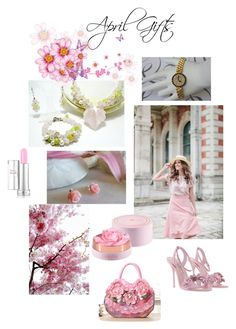 """""""April Gifts"""" by varivodamar ❤ liked on Polyvore featuring Sophia Webster, Lancôme and modern"""