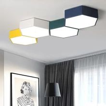 DIY LED Honeycomb ceiling lighting ceiling lamps for the living room office chandeliers Ceiling for the Study room Children room Kitchen Ceiling Lights, Led Ceiling Lights, Ceiling Lamps, Kids Room Lighting, Living Room Lighting, Led Wall Lamp, Wall Sconces, Chandelier In Living Room, Led Diy