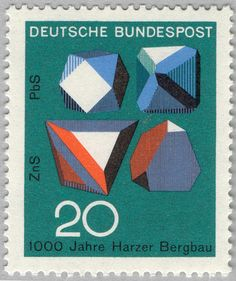 DDR Stamps from Berlin