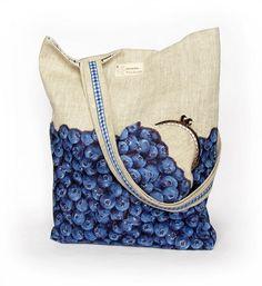 linen tote bag & coin purse