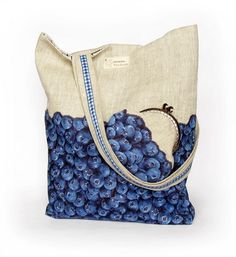 linen tote bag & coin purse