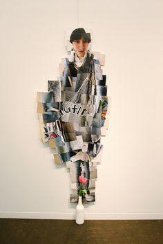 David Hockney inspired, interesting way to do a photo-based body image/body scan Mixed Media Photography, Portrait Photography, Figure Photography, Photomontage, David Hockney Photography, Collage Art, Collage Portrait, Collage Photo, 3d Studio