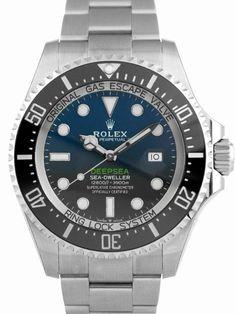 Rolex Sea-Dweller Deepsea Stainless Steel Deep Blue Dial - 126660