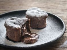 Buy Chocolate lava cakes in the shape of heart by on PhotoDune. Chocolate lava cakes in the shape of heart Chocolate Lava Cake, Chocolate Fondant, Chocolate Desserts, Baking Chocolate, Chocolate Hearts, Köstliche Desserts, Delicious Desserts, Paleo Dessert, Nine Out Of Ten