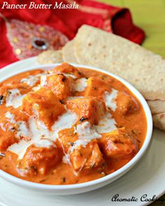 Paneer Butter Masala/ Creamy Curry With Indian Cottage Cheese