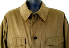 Claiborne Mens Sueded 2XL Dark Brown Lined Jacket Long Sleeves 2 Pockets | eBay