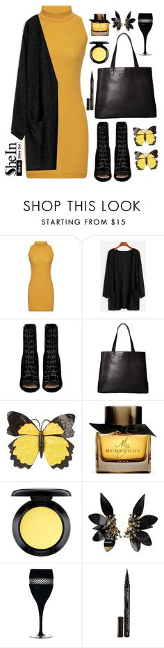 """""""shein"""" by veronica7777 ❤ liked on Polyvore featuring Barbara Bui, SOREL, Nancy Gonzalez, Burberry, MAC Cosmetics, Marni, Waterford, Smith & Cult and shein"""