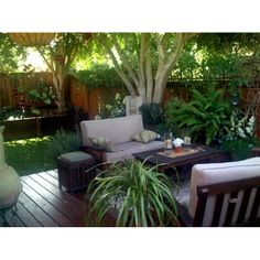 Garden Ideas For Small Yards Image