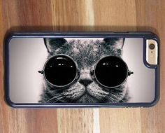 Steampunk Pussy Cat Kitten Funky Phone Case iphone 5 5S 5C 6