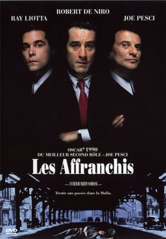 Les Affranchis (Goodfellas) est un film de gangsters américain réalisé par Martin Scorsese en 1990. Le film est basé sur le livre Wiseguy, de Nicholas Pileggi, sorti en 1986, racontant l'histoire vraie de Henry Hill. Wikipédia (Télé Qc / Juillet 2014)