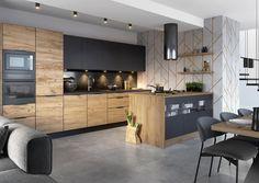 Modern Interior, Interior Design, Loft Style, Küchen Design, Kitchen Cabinets, House, Furniture, Kitchens, Home Decor