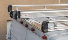 Commercial Van Interiors, Ladder Racks For Vans, Van Shelving, Cargo Rack, Sprinter Camper, Exterior Lighting, Staging, Interior And Exterior, Store