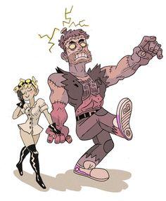 Frankensteins boyfriend by Crew1.deviantart.com on @DeviantArt