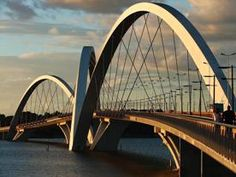 Bridge Juscelino Kubitschek in Brasilia by Alexandre Chan e Mário Vila Verde