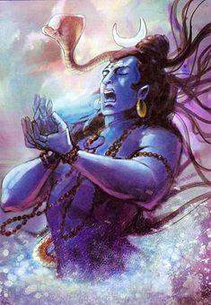 Divine knowledge about supreme creator shiva: Lord Siva Drinks Poison