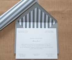 Invitaciones de boda personalizadas de Silvia Galí.  www.silviagali.com