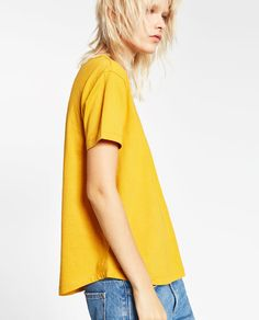 Image 2 of T-SHIRT WITH POCKET from Zara