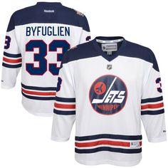 Dustin Byfuglien Winnipeg Jets Reebok Youth 2016 Heritage Classic Replica Jersey - White