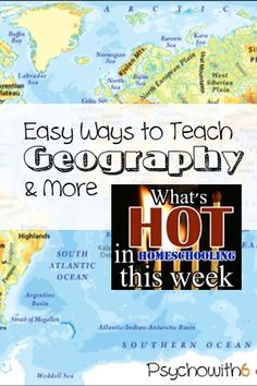 Encouragement, geography curriculum, online curriculum for middle school