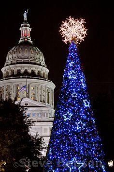 Christmas Lights, Texas State Capitol