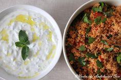 Andalusian auringossa-ruokablogi: Turkin herkkuja: kisir, tomaattinen bulgur