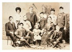 Victorian family photo? Look again. - Mr. Brainwash's Pop Street Art