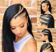 Easy Hairstyles for Black Women hairstyles for black women 50 Easy Hairsty. Easy Hairstyles for Black Women hairstyles for black women 50 Easy Hairstyles For Black Women Soft, shiny, silky a. Little Girl Hairstyles, Black Women Hairstyles, Braided Hairstyles, Trendy Hairstyles, Sassy Haircuts, Black Women Braids, Gorgeous Hairstyles, Ethnic Hairstyles, Curly Hair Styles