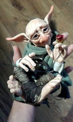 SOLD Troll Fae Poseable Art Doll by FaunleyFae on DeviantArt