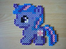 Bügelperlen Figur, My little Pony, Twilight Sparkle, Hama-Bügelperlen, Geschenk