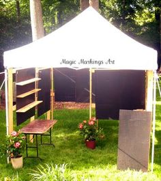 Pegboards & Here is the trimline canopy tent from Flourish... super stable ...