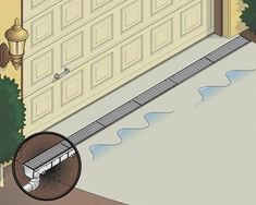 Drainage Everything You Need to Know About Channel Drain Einfahrt Kanal ablassen, installiert Gutter Drainage, Backyard Drainage, Landscape Drainage, Driveway Drain, Diy Driveway, Driveway Landscaping, Diy Gutters, Trench Drain, Drainage Solutions