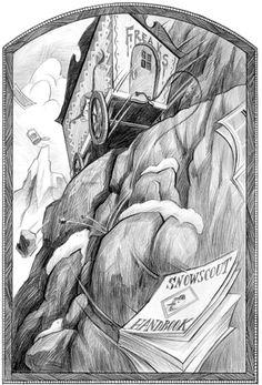 Brett Hellquist illustrates A Series of Unfortunate Events /Les Désastreuses Aventures des Orphelins Baudelaire