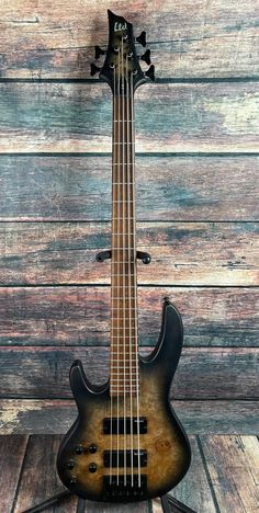 Left Handed Bass, Price Point, Horn, Electric, Guitar, Layout, Construction, Black, Products