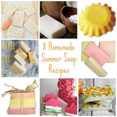 Brighten up your Summer beauty routine with some delicious scented soaps.  We're bringing you 8 different recipes for making your own scented soaps that will remind you of those warm Summer d…